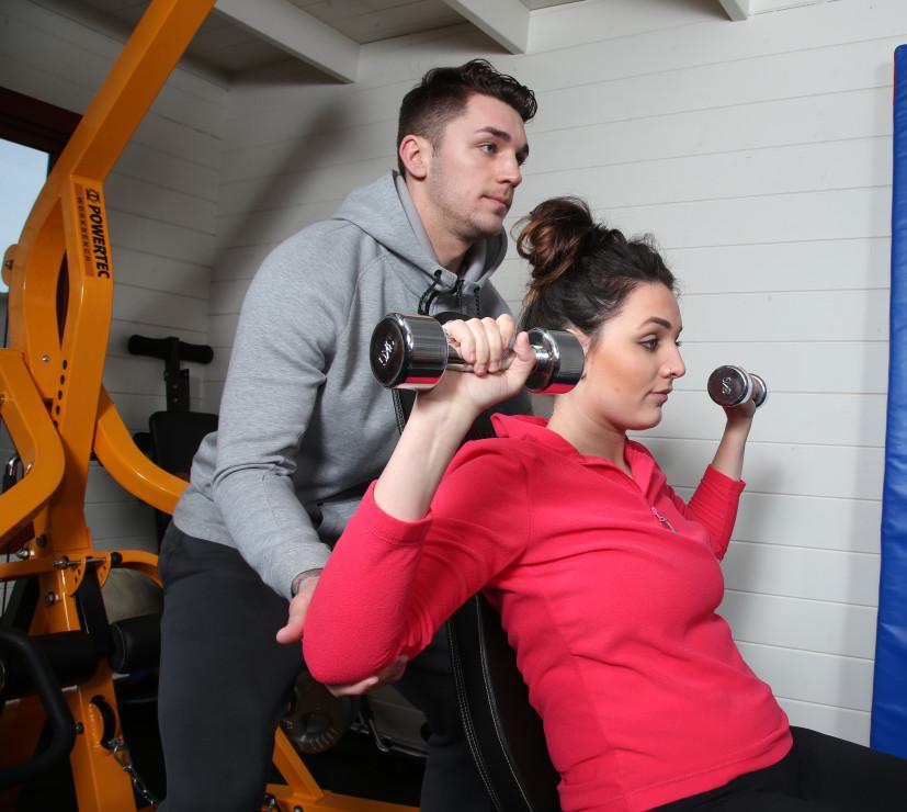 LPB Fitness training session