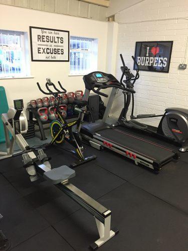 Personal Training Treadmill